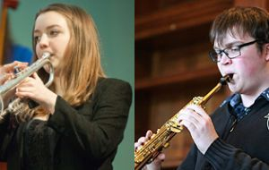 BBC Young Musicians of the Year Alexandra & Tom Ridout with the Gareth Williams trio